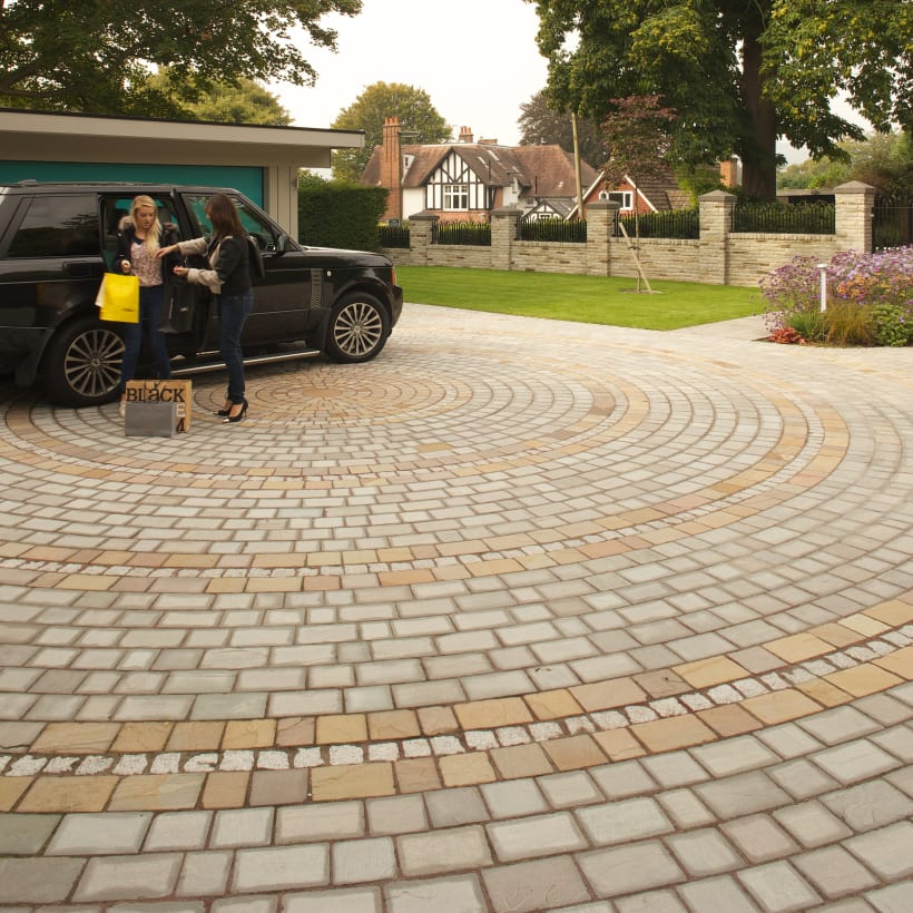 Driveways Setts - Autumn Bronze