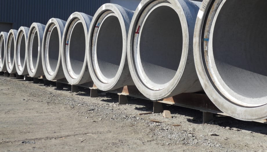 Five reasons why concrete pipes are a great alternative to plastic pipes