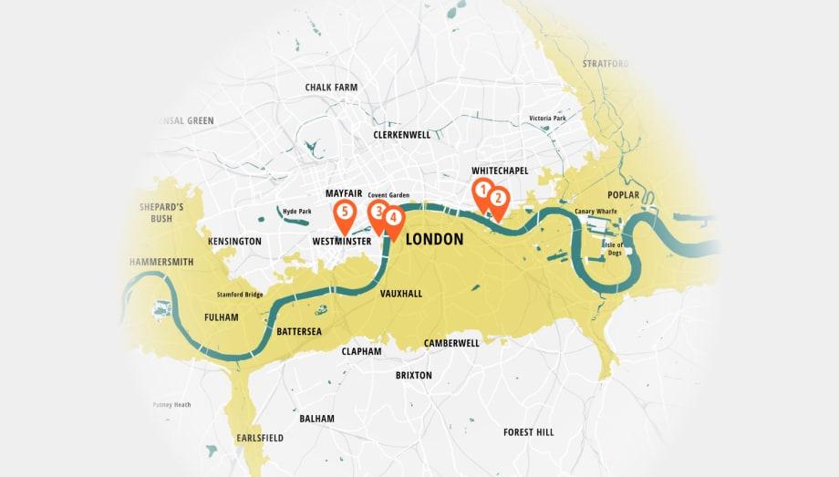 London Future Flooding Infographic