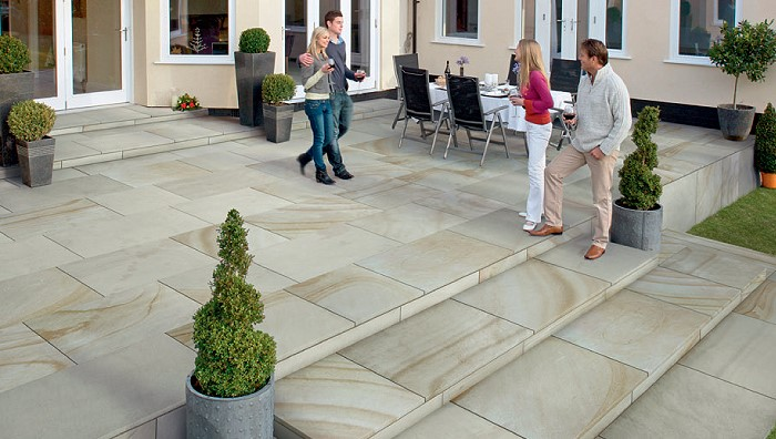 Natural Stone Patio Ideas Marshalls