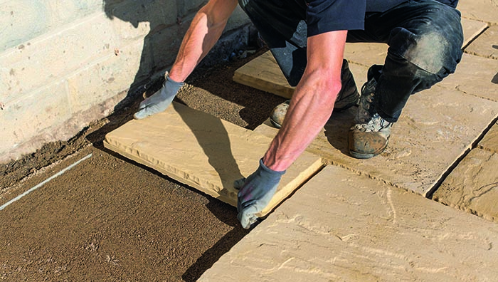 How To Lay A Patio Laying On, Patio Concrete Thickness