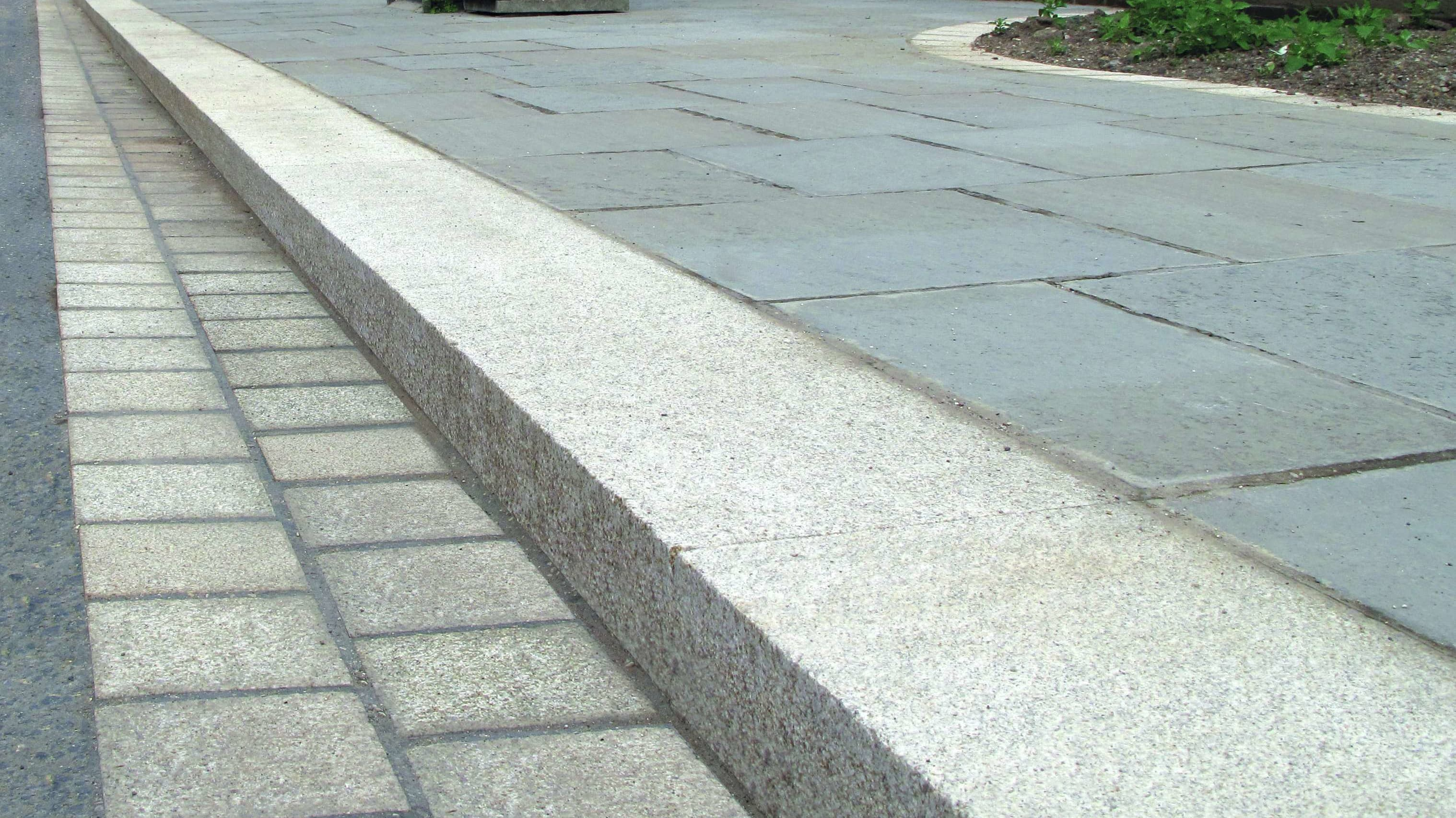 granite kerb roadside