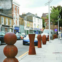 antony gormley bollards