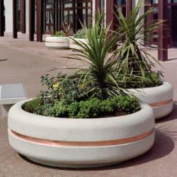 bellitalia classica 2020 circular concrete planter