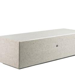bellitalia demetra bench in precious stone