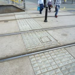 tactile lambeth paving