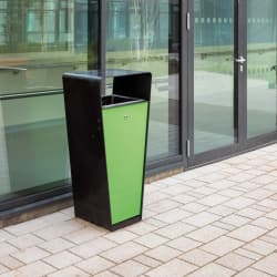 loci litter bin - steel and powdercoated