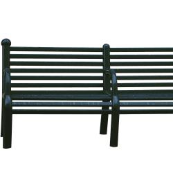 ferrocast leicester seat in polyurethane