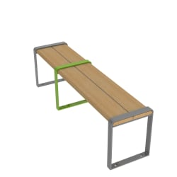 loci three seat bench