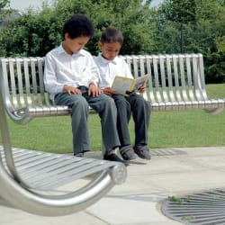 m3 stainless steel bench