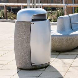 monoscape igneo bin and igneo seat seaton