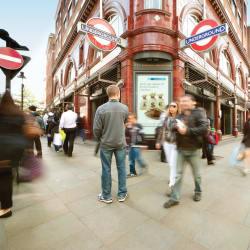 Scoutmoor Covent Garden London Underground Station 6263