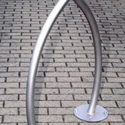 sineu graff wishbone steel and stainless steel cycle stand
