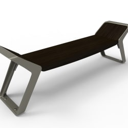 stratic bench - onyx and quartz