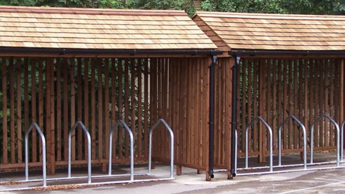 Enviro Timber Cycle Shelter