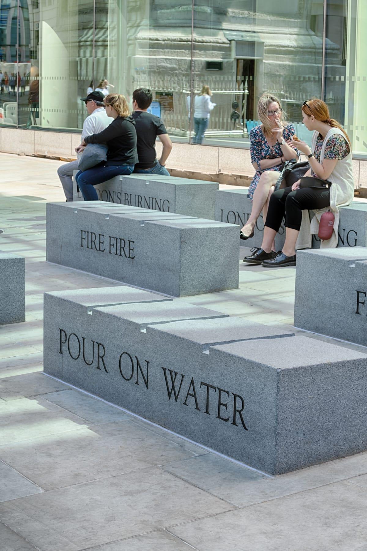 Prospero granite benches