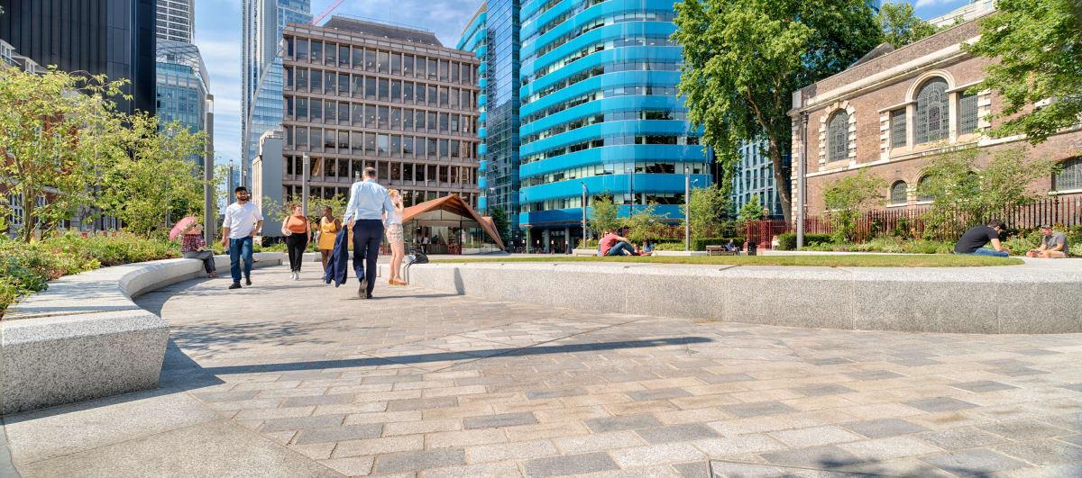 tarvos granite- aldgate square