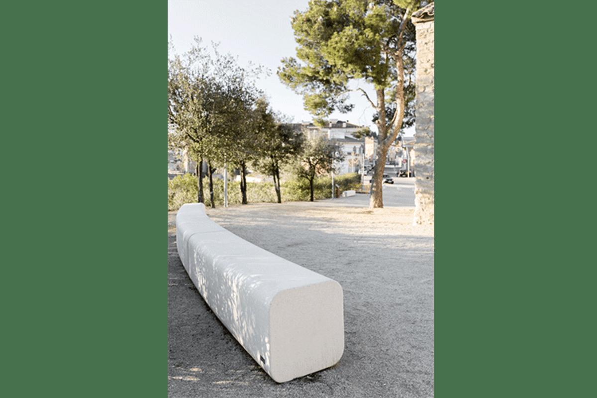 escofet serp modular bench