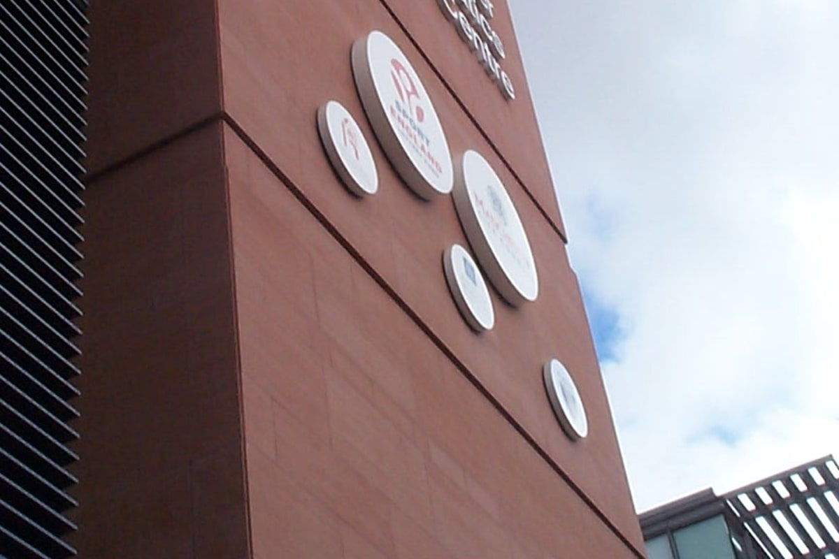 aquatics centre - manchester