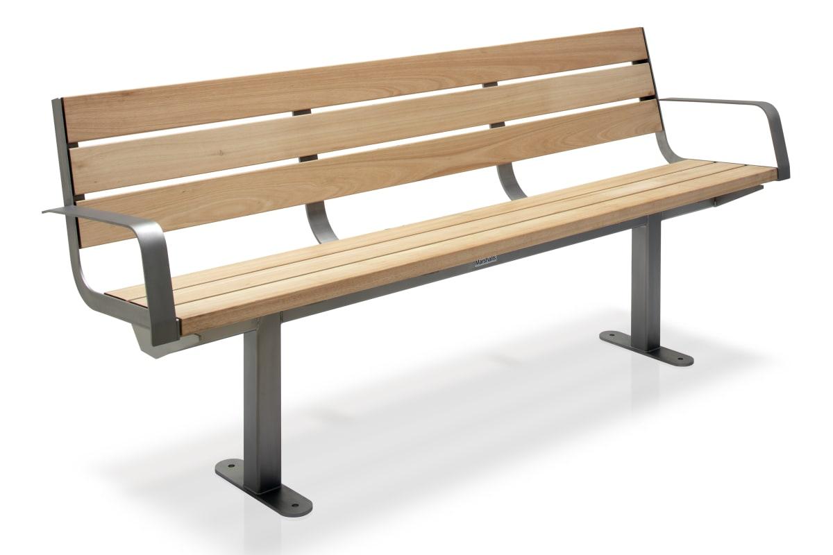 citi element seat - hardwood timber