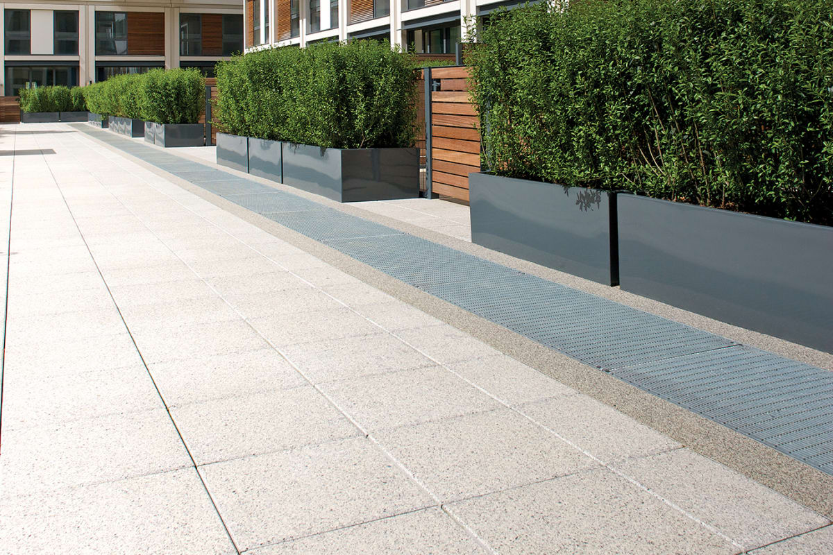conservation paving - heather grey