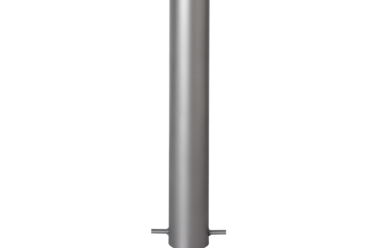 essentials 304 stainless steel bollard - bead blast finish