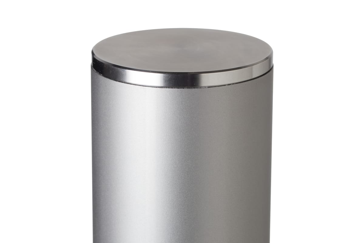 essentials 304 stainless steel bollard bead blast finish