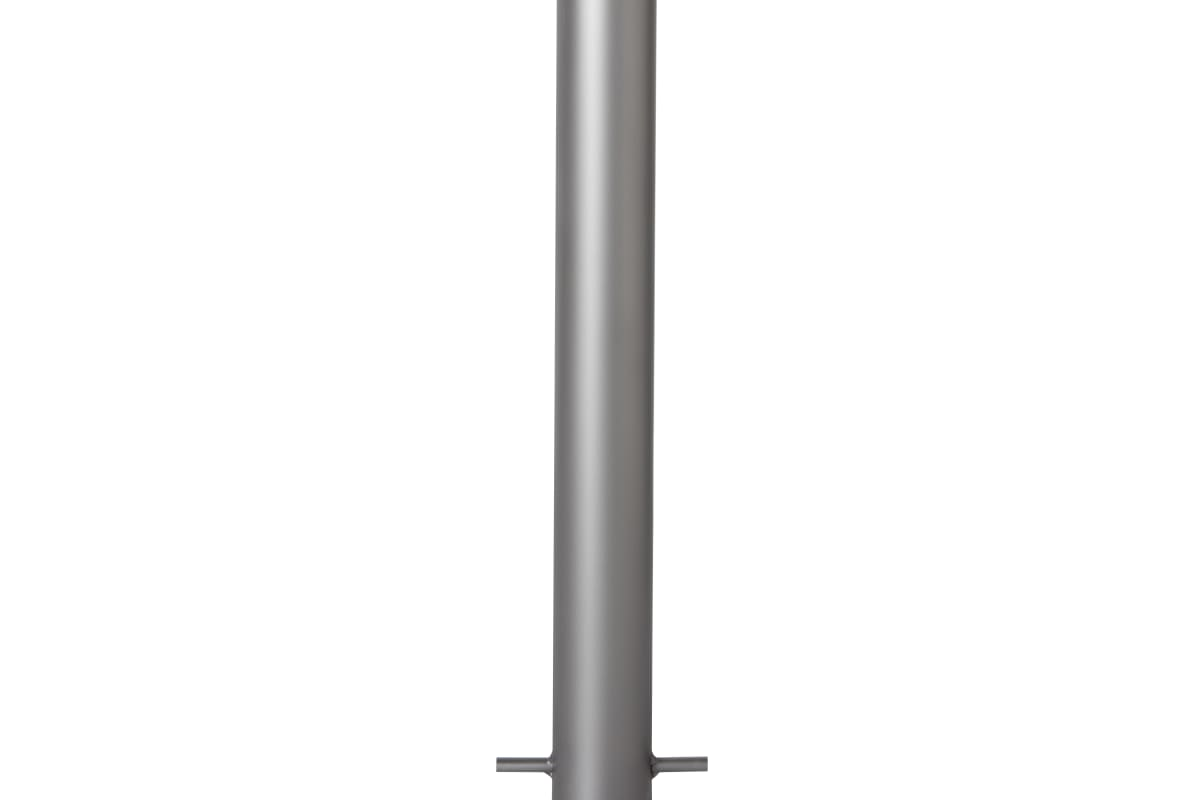 essentials 304 stainless steel bollard bead blast finish - slim