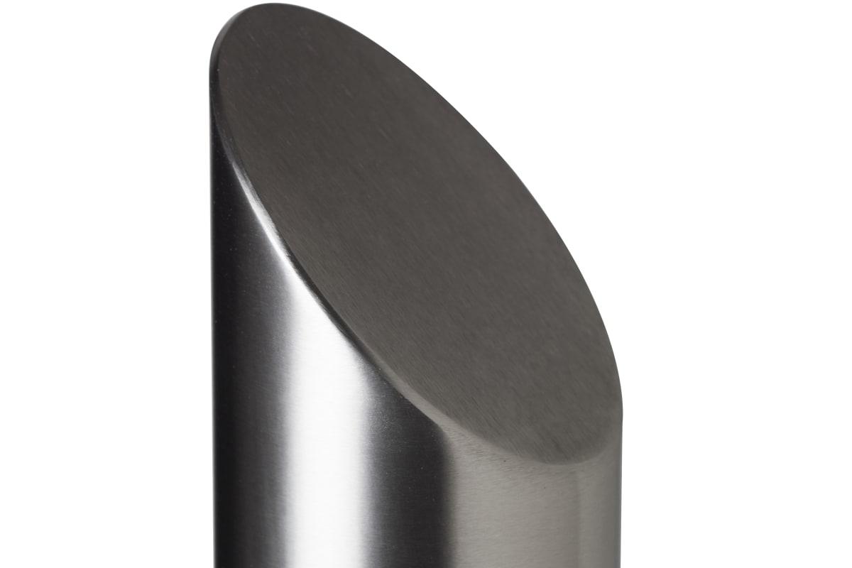 essentials 304 stainless steel mitre top bollard