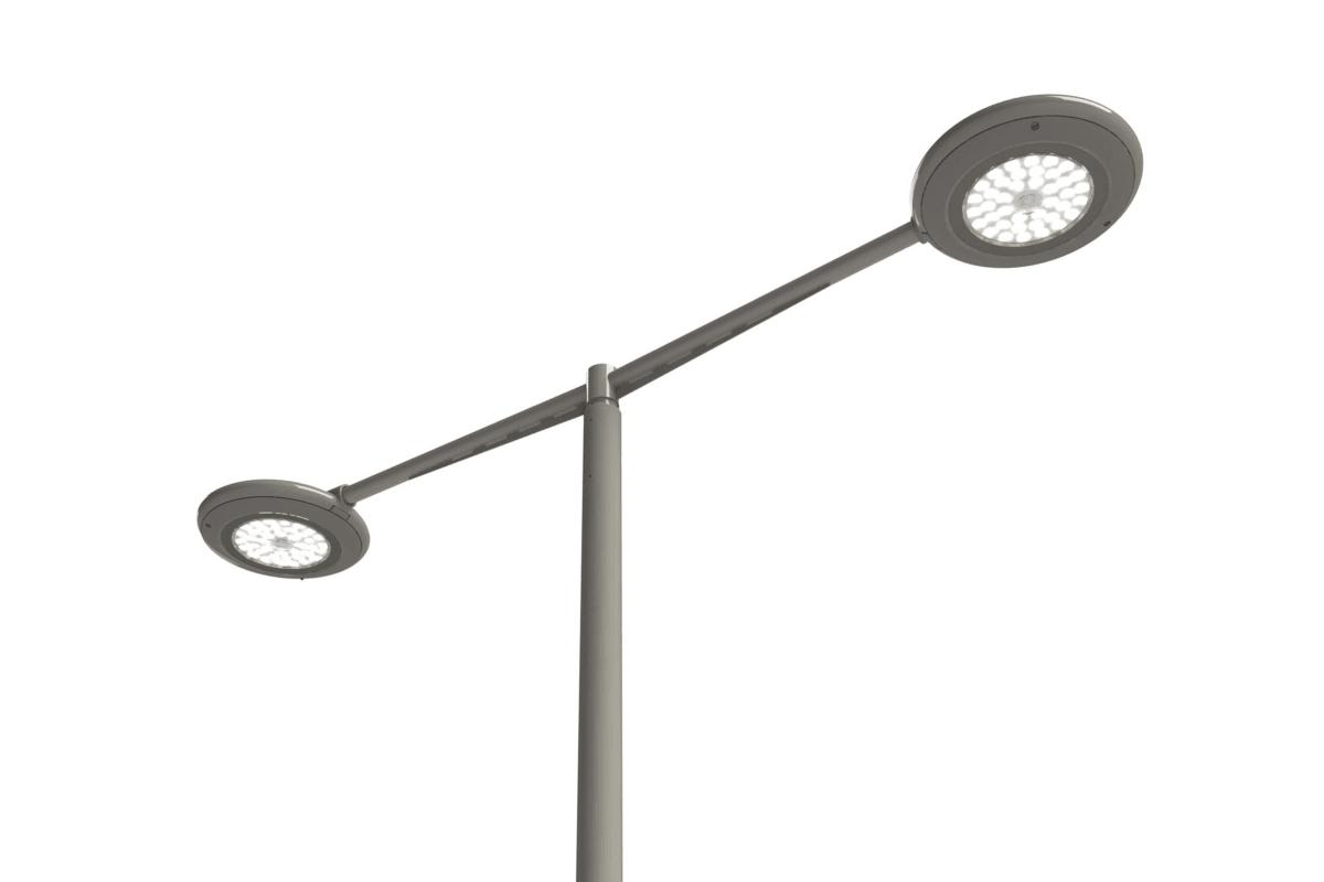 geo disc 600 led luminaire