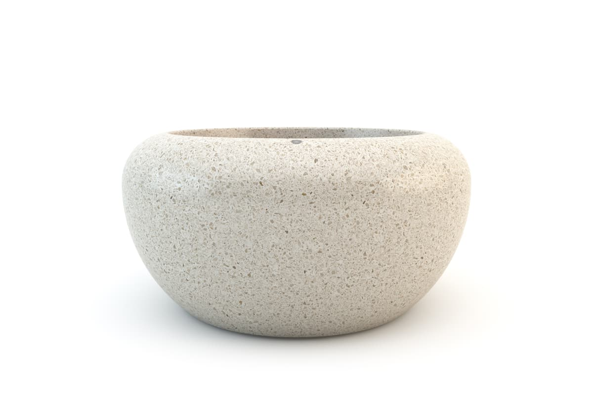 small precious stone giove planter