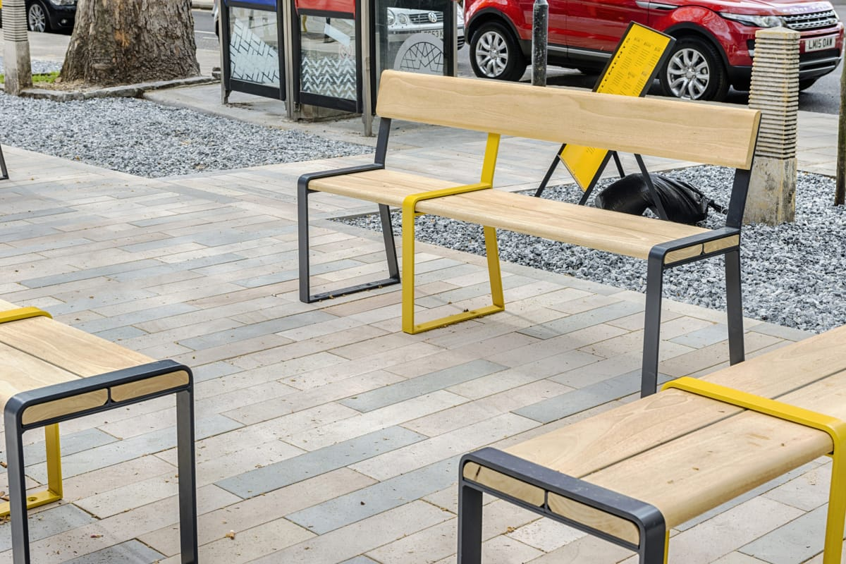 loci seat and benches