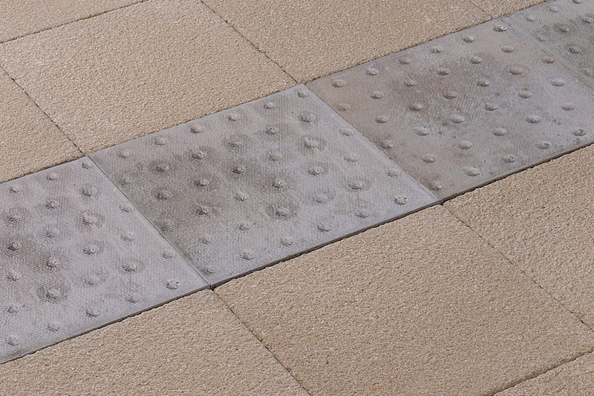 marshalls platform edge tactile paving