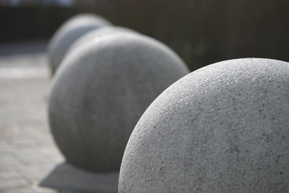 spherical 700 concrete bollard