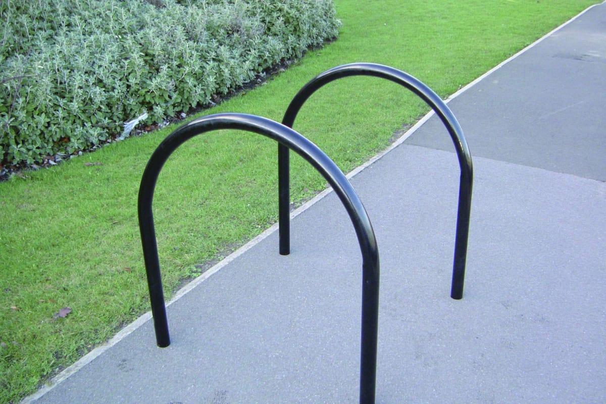 ollerton hoop steel cycle stand