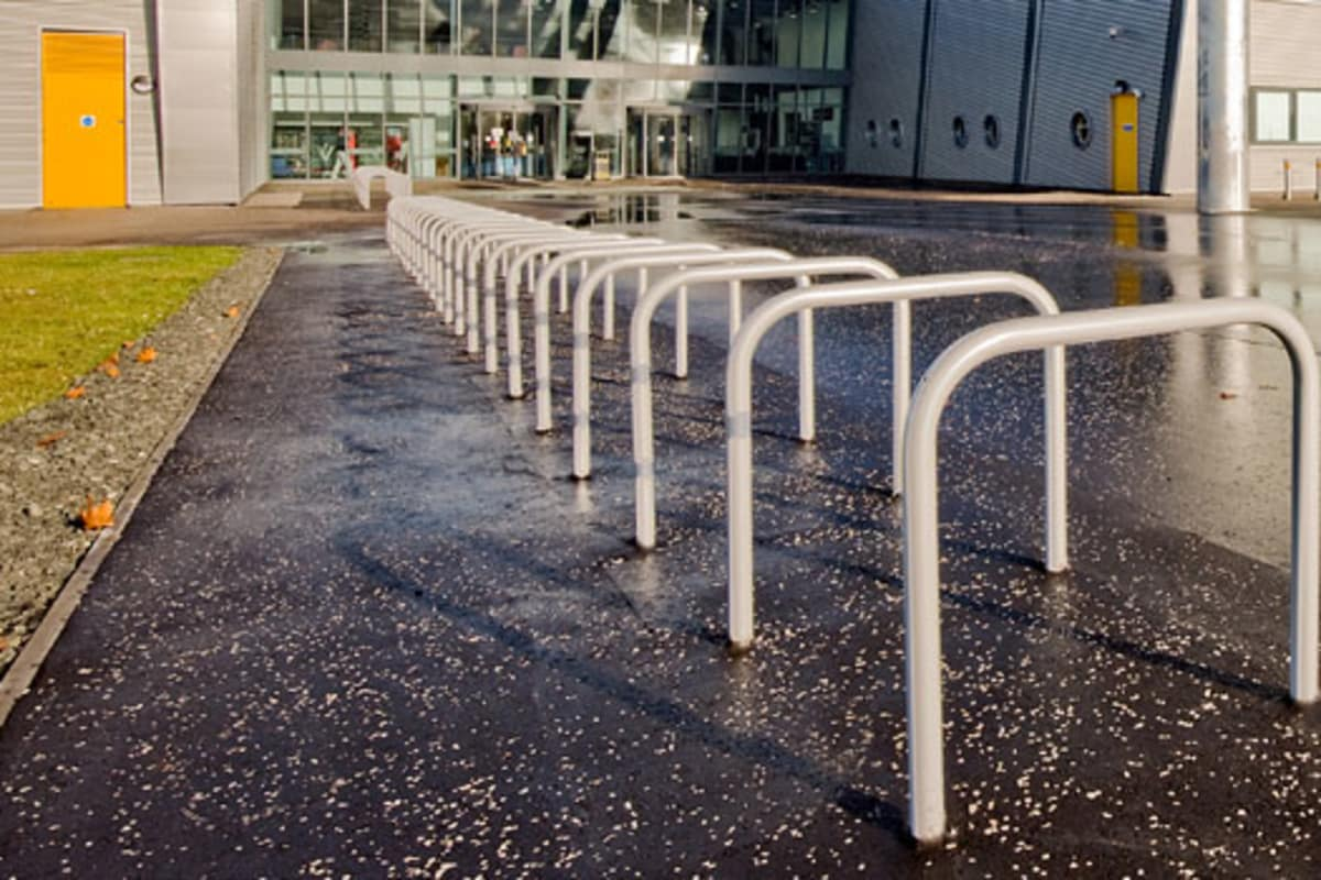 ollerton sheffield steel and stainless steel cycle stand
