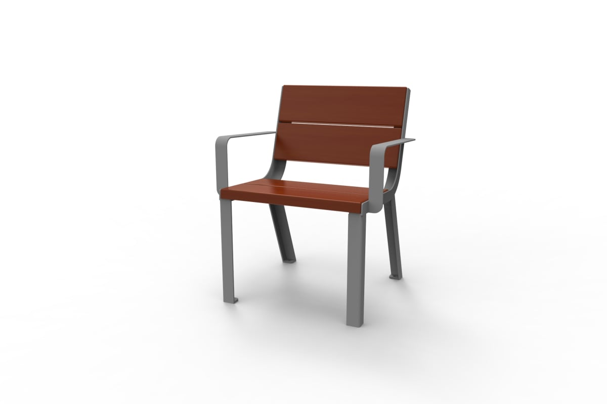 optima chair with armrests