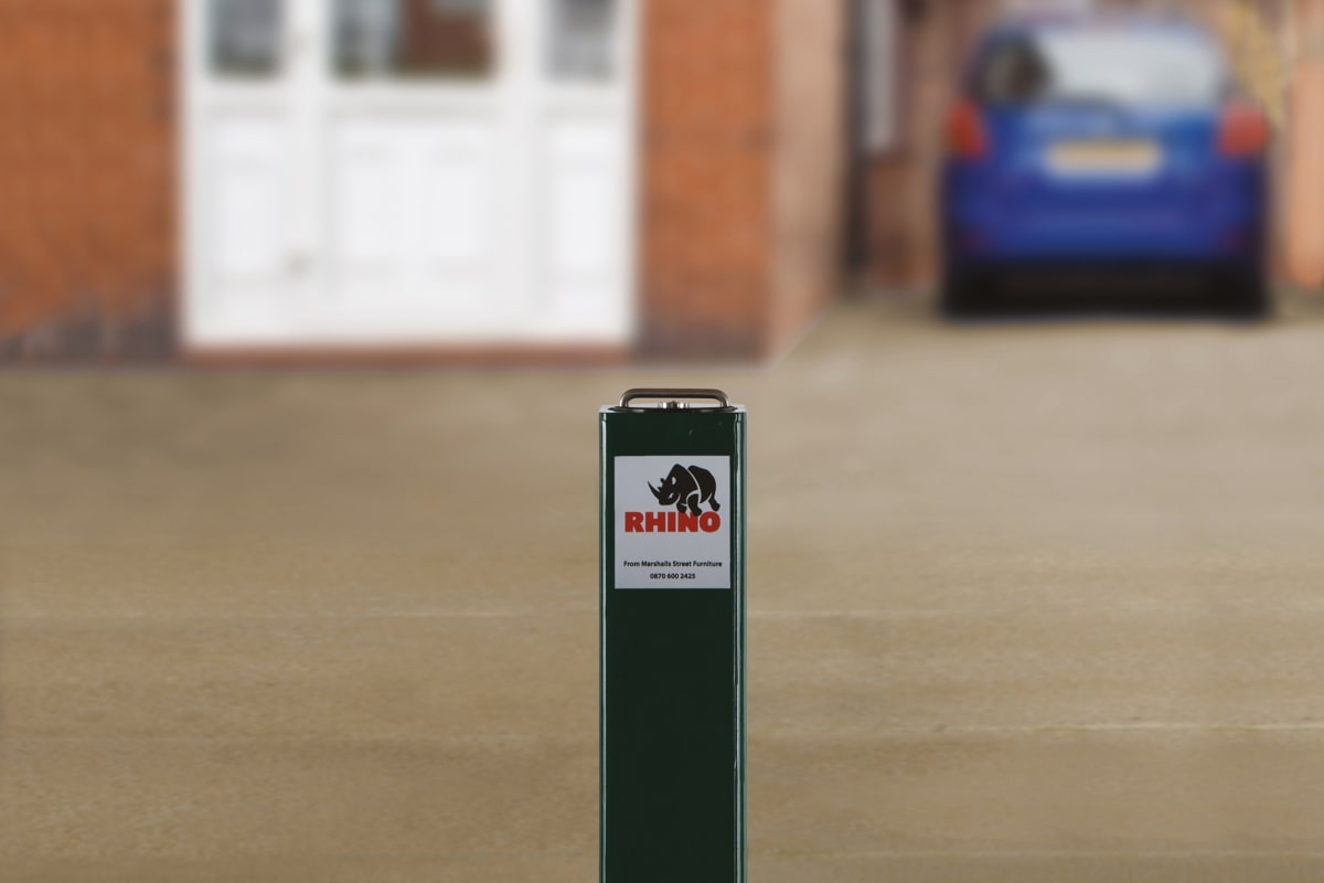 rt sq8 hd telescopic bollard