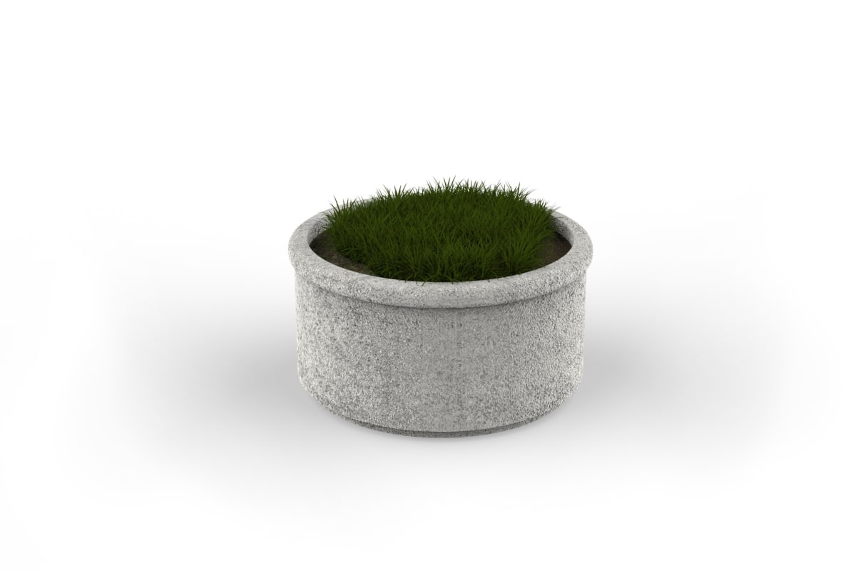 sero circular planter 800mm