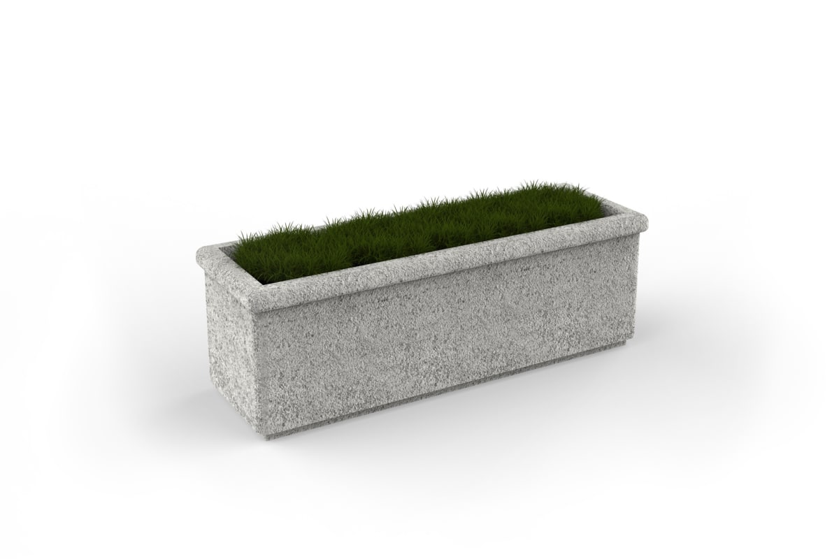 sero rectangle planter 1200mm