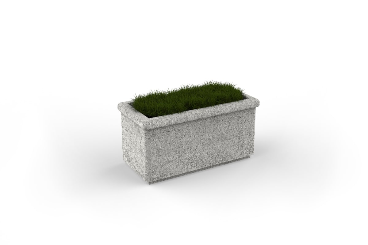 sero rectangular planter 800mm