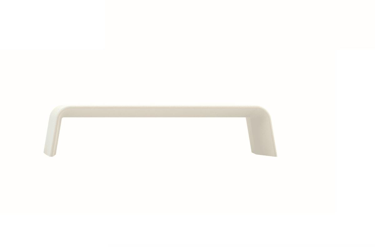 spring bench in white