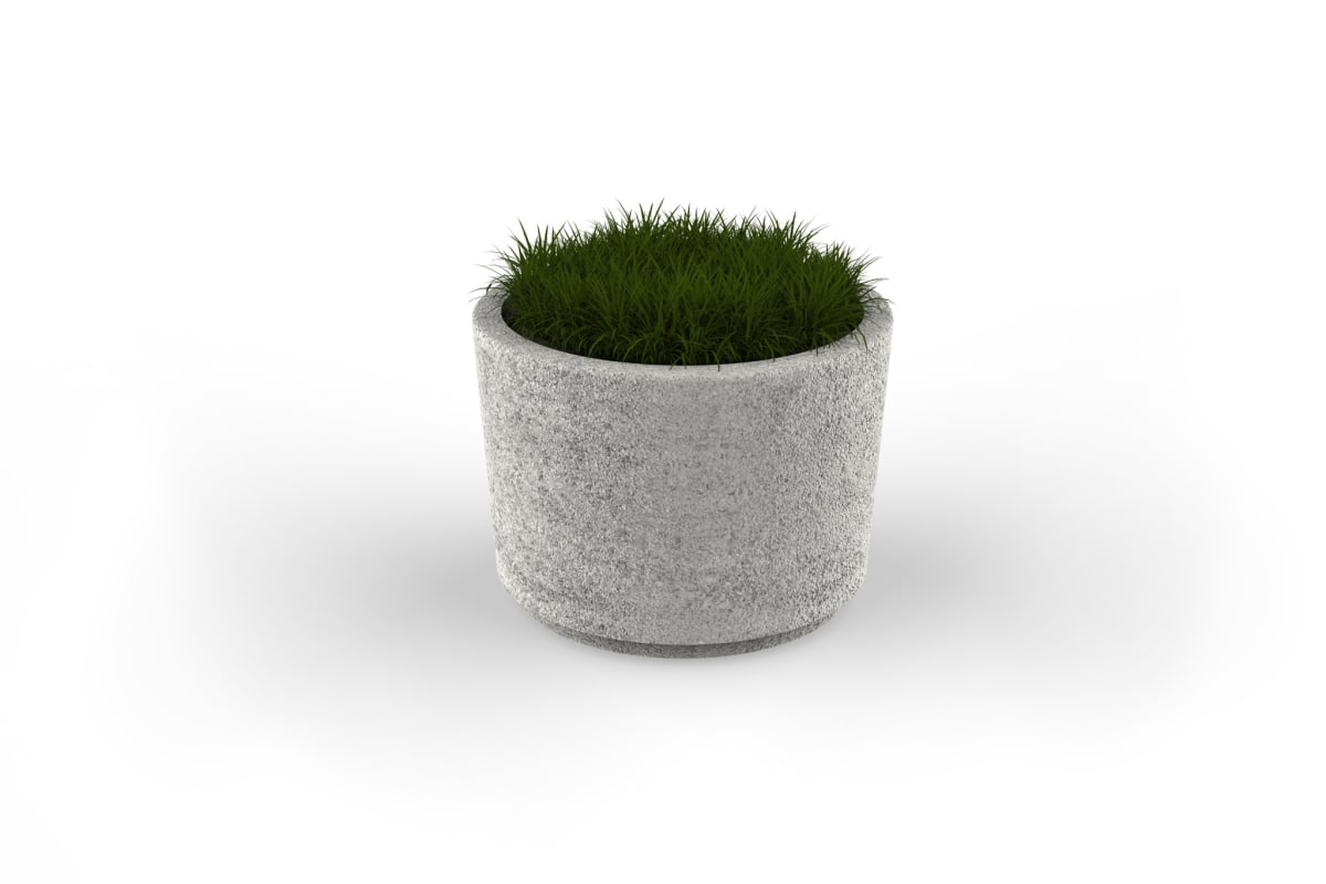 strada circular planter 710mm