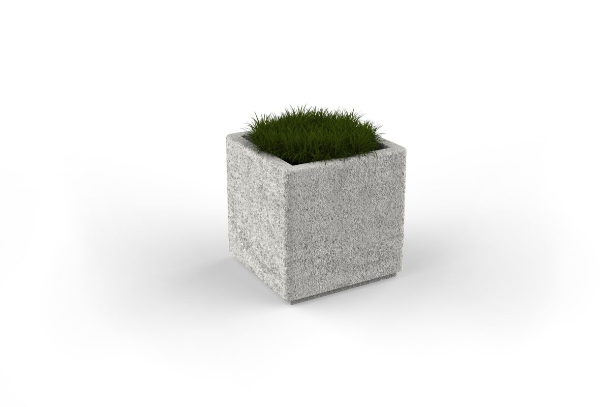 strada square planter 500mm