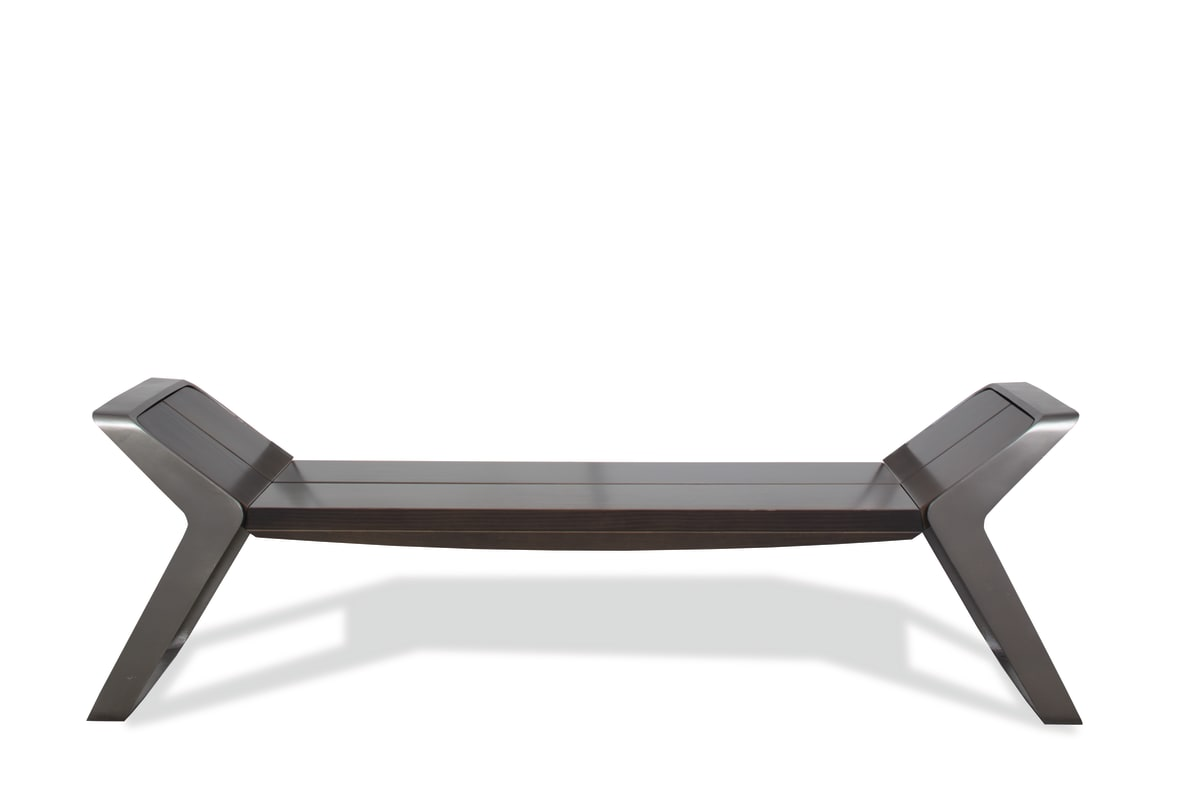 stratic bench - front view - onyx & quartz