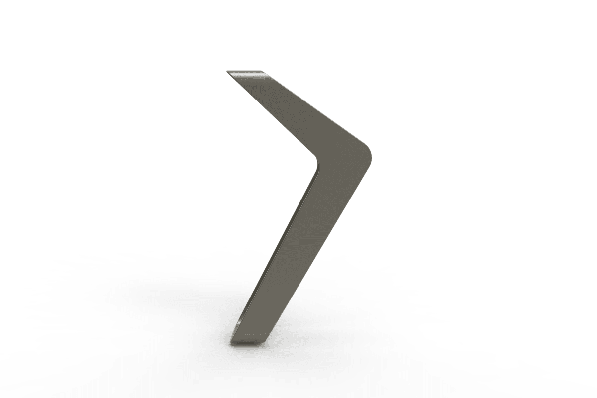 stratic cycle stand - back view - quartz