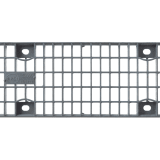 birco 100 galvanised steel mesh grate 20mm x 30mm