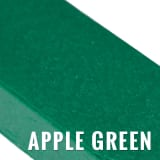 plastic lumber - apple green
