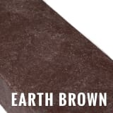 plastic lumber - earth brown