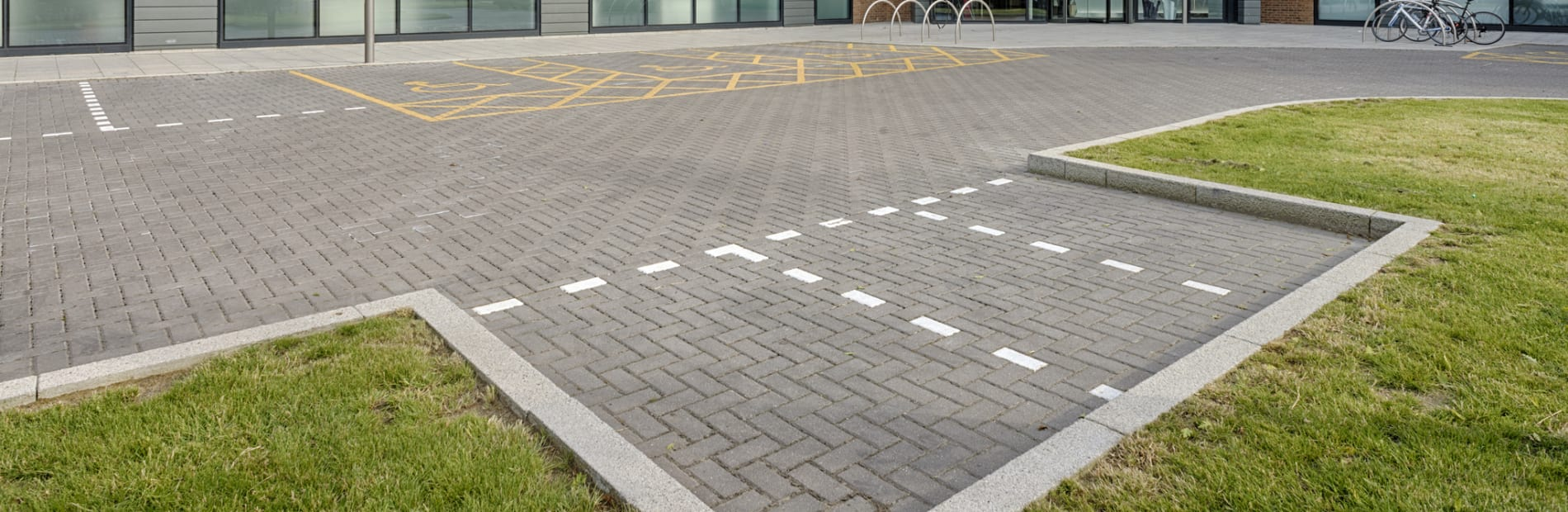 Conservation kerb outside office
